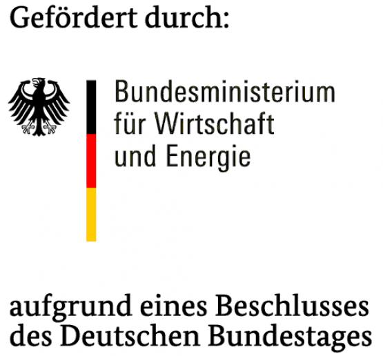 Logo zur BMWi Förderung