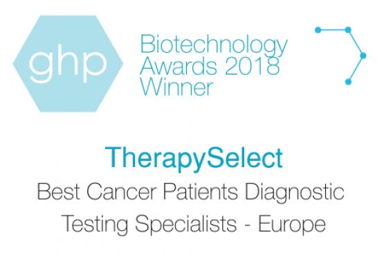 Logo of ghp biotechnology award