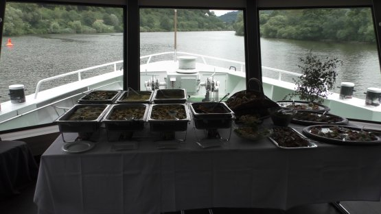 Lunch at the SHIP-Event 2018.